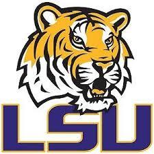 Louisiana State University square logo