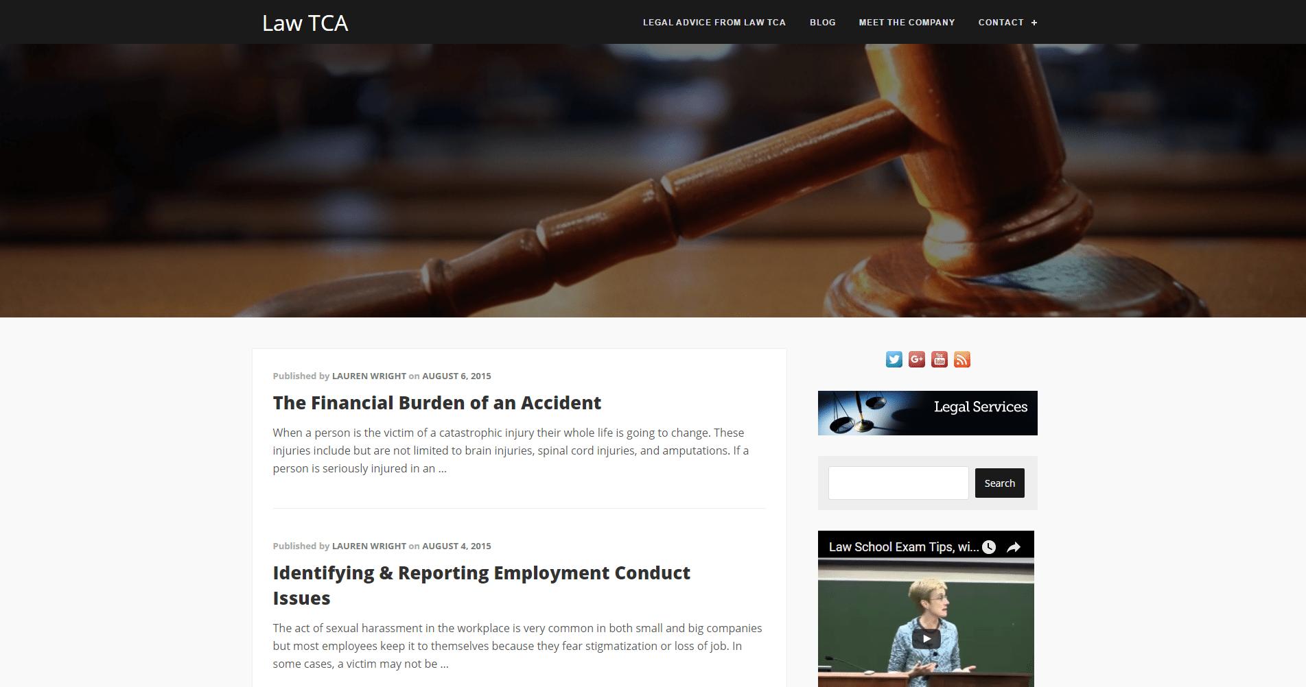 Law TCA
