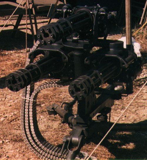 3. Minigun