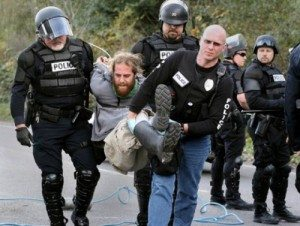 unlawful arrest